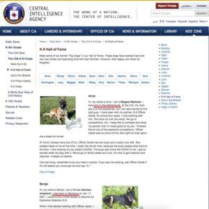 European dogs in US law enforcement