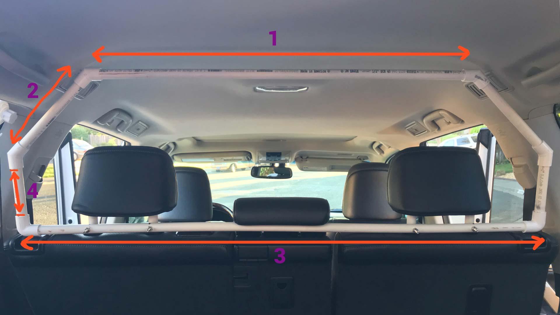 ДИИ аутомобилска баријера за СУВ