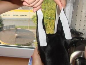 Light ear posting method - tape crown